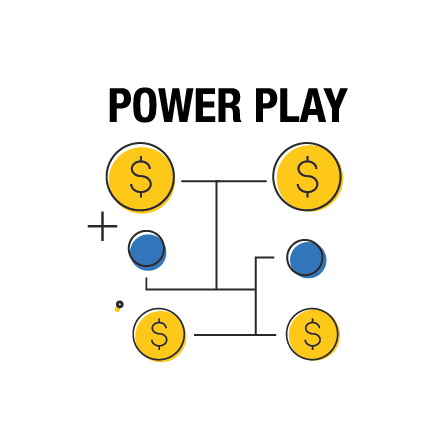 Multiplique sus posibilidades de ganar con Power Play